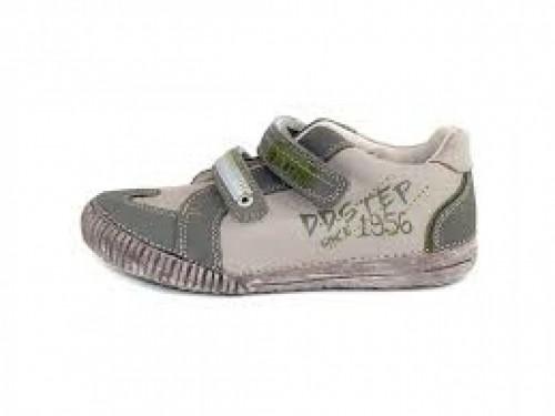 D.D.step detské topánky na suchý zips keki farby 25-30