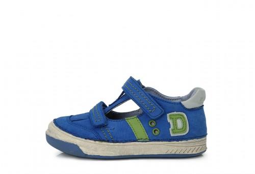 D.D.STEP kék zöld fiú tépőzáras gyerekcipő 25-30
