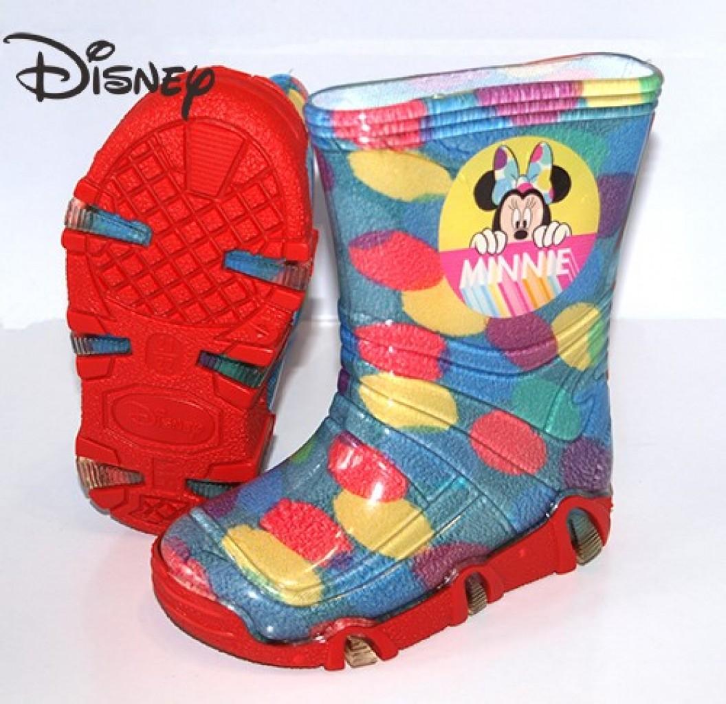 Szuwarek Disney Minnie dievčenské gumové čižmy
