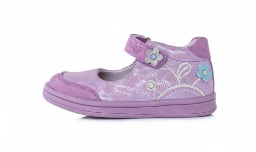 PONTE fialové dievčenské supinované baleríny 22-27