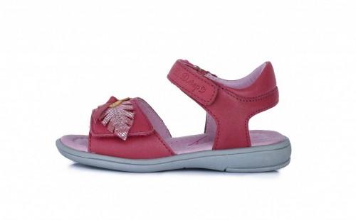 D.D.Step dievčenské ružové detské sandále 25-30