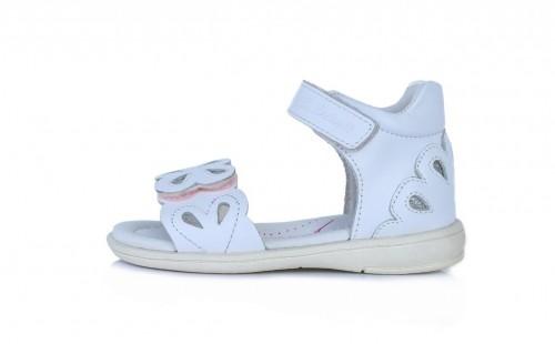 D.D.Step dievčenské biele sandále 25-30