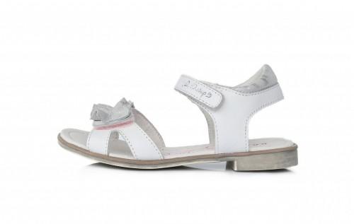 D.D.Step dievčenské biele sandále 28-33