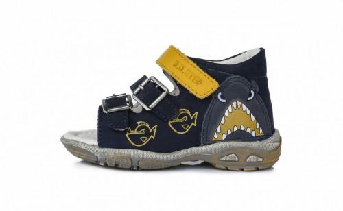 D.D.Step chlapecké modré dětské sandály 19-24