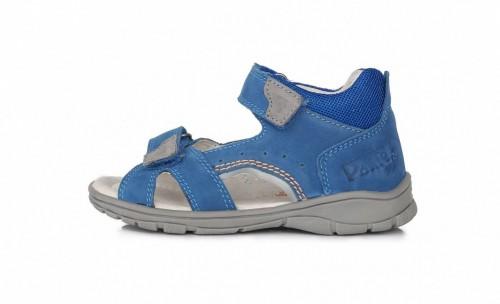 PONTE bleděmodré supinované dětské chlapecké sandály se suchým zipem 28-33