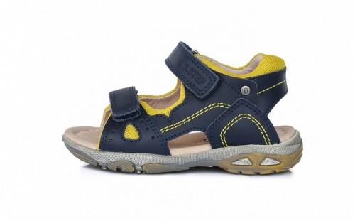 D.D.Step chlapecké šedě zelené dětské sandály 25-30