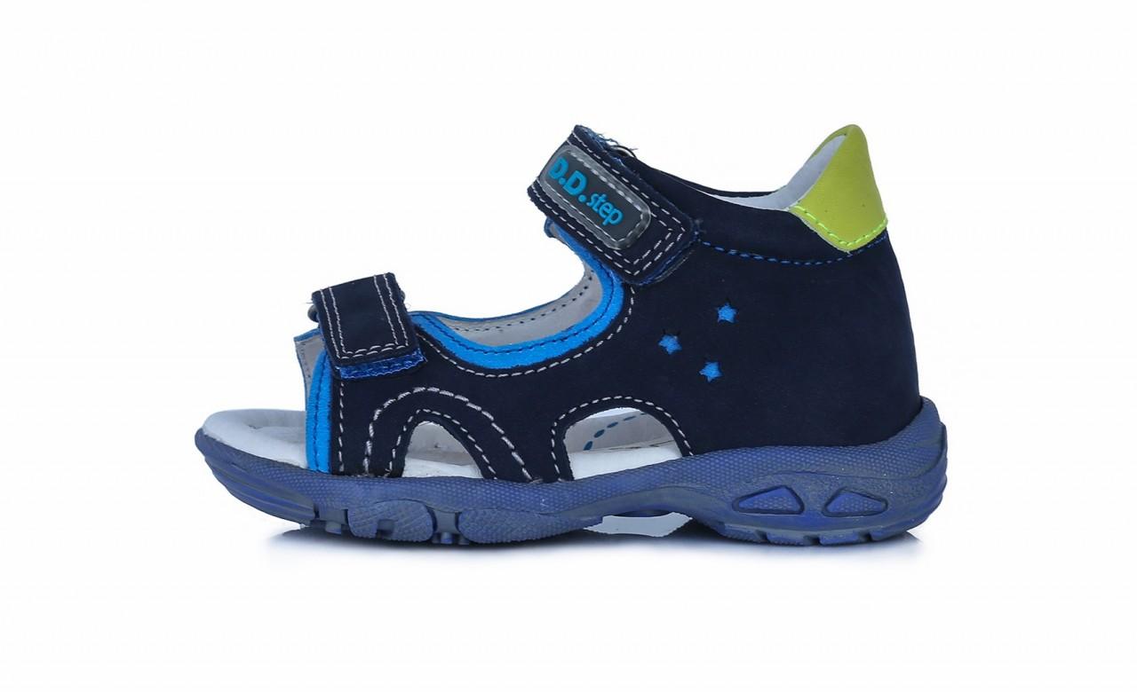 D.D.Step chlapčenské modré detské sandále 19-24
