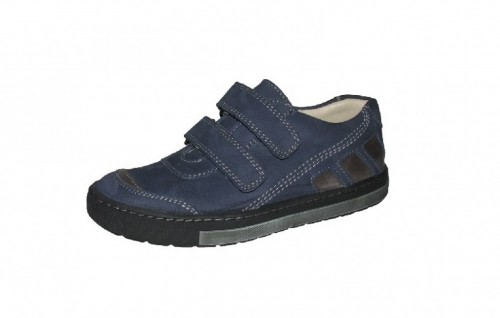 Szamos modré chlapecké dětské boty na suchý zip 36-40