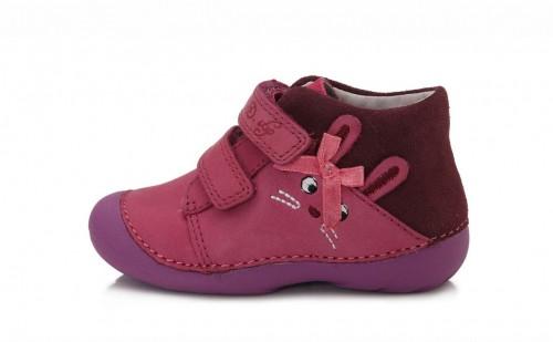 D.D.STEP rózsaszin lány tépőzáras gyerekcipő 18-23