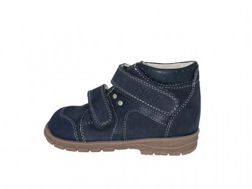 Supykids GABO detská chlapčenská supinovaná obuv na suchý zips modrá 19-30