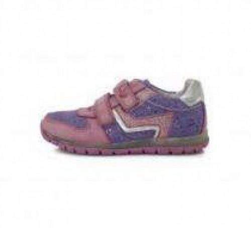 PONTE dětské fialové supinované dívčí boty na suchý zip 28-33