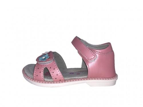 SUPYCOOL lány rózsaszín virágos gyerek szandál 26-31