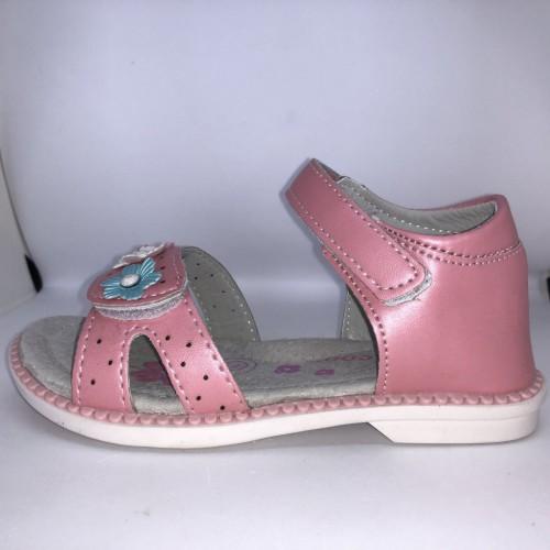 Dívčí růžové dětské sandály 26-31