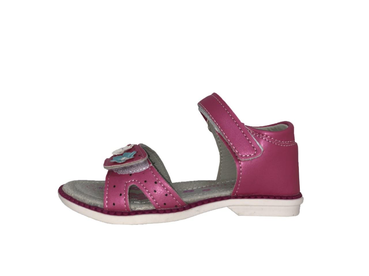 SUPYCOOL dívčí cyklámenové dětské sandály 26-31