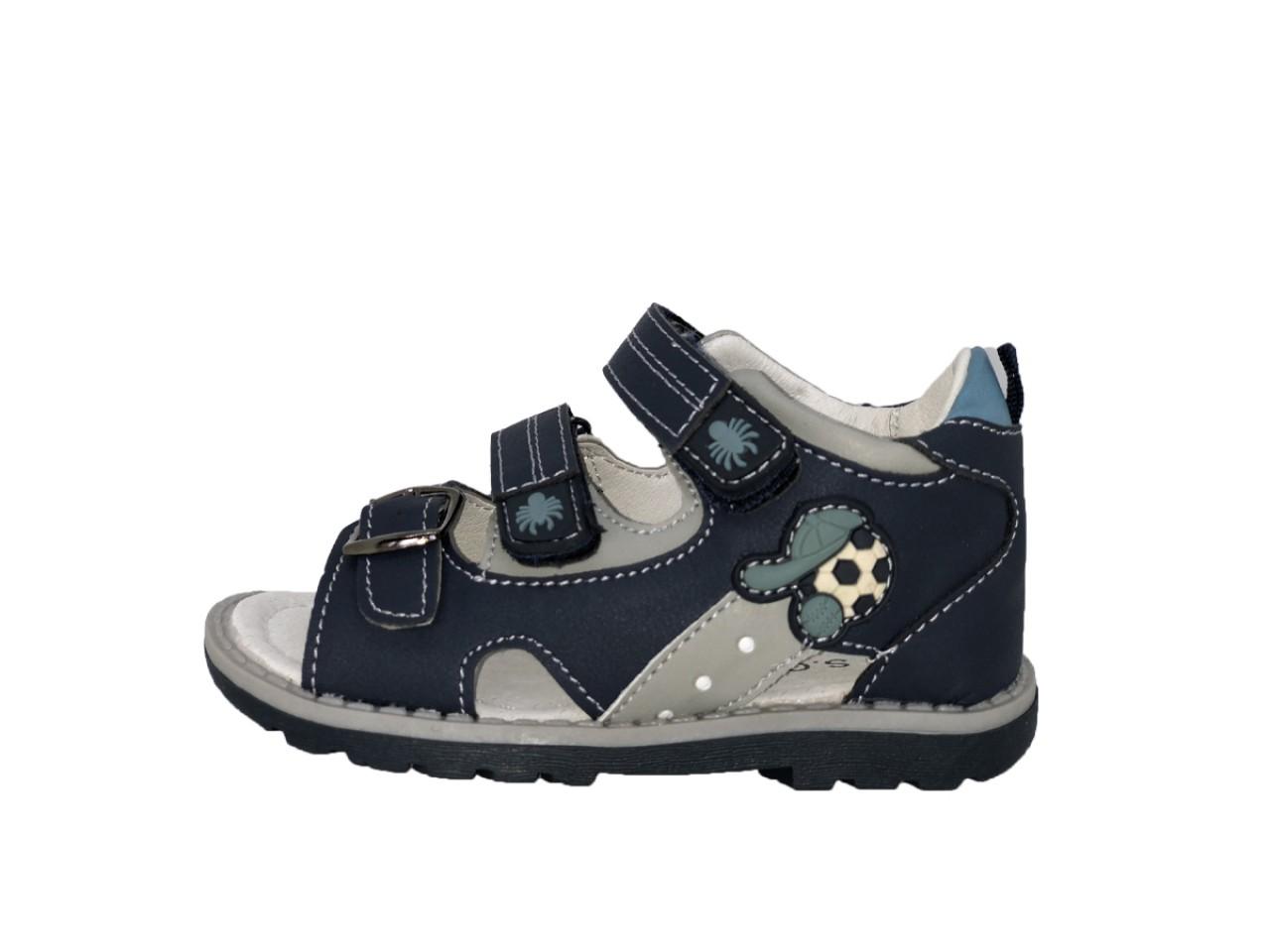 SUPYCOOL dětské sandály se suchým zipem tmavomodré pro chlapce 25-30