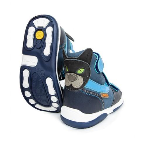 MEMO CAT modré chlapčenské detské supinované sandále 22-26
