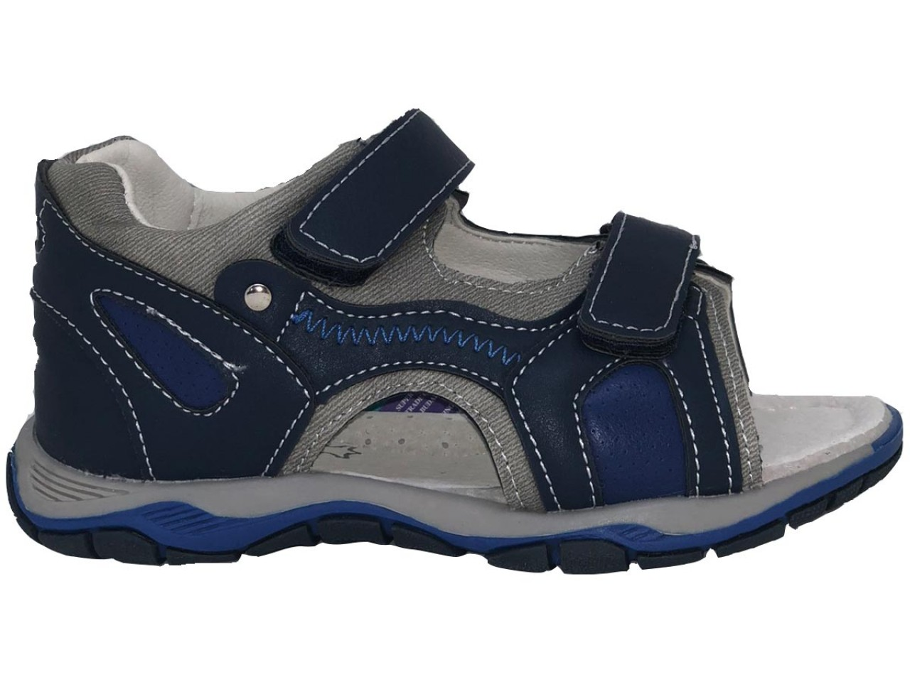 SUPYCOOL detské sandále so suchým zipsom moré pre chlapcov 31-36