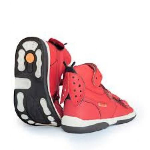 MEMO LADYBIRD  červené dievčenské supinované sandále 22-29