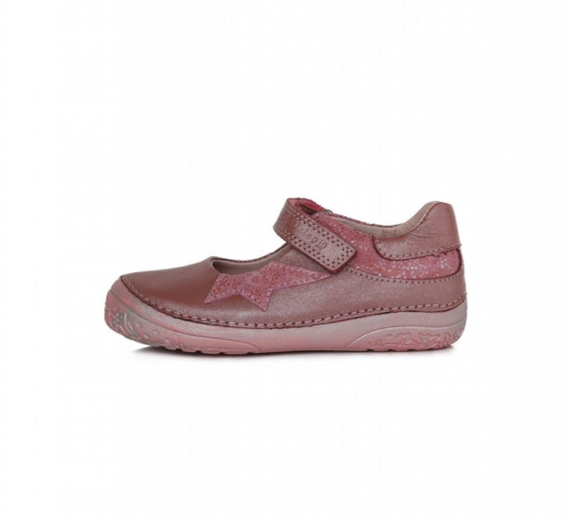 D.D.STEP dievčenské ružové balerínky 25-30