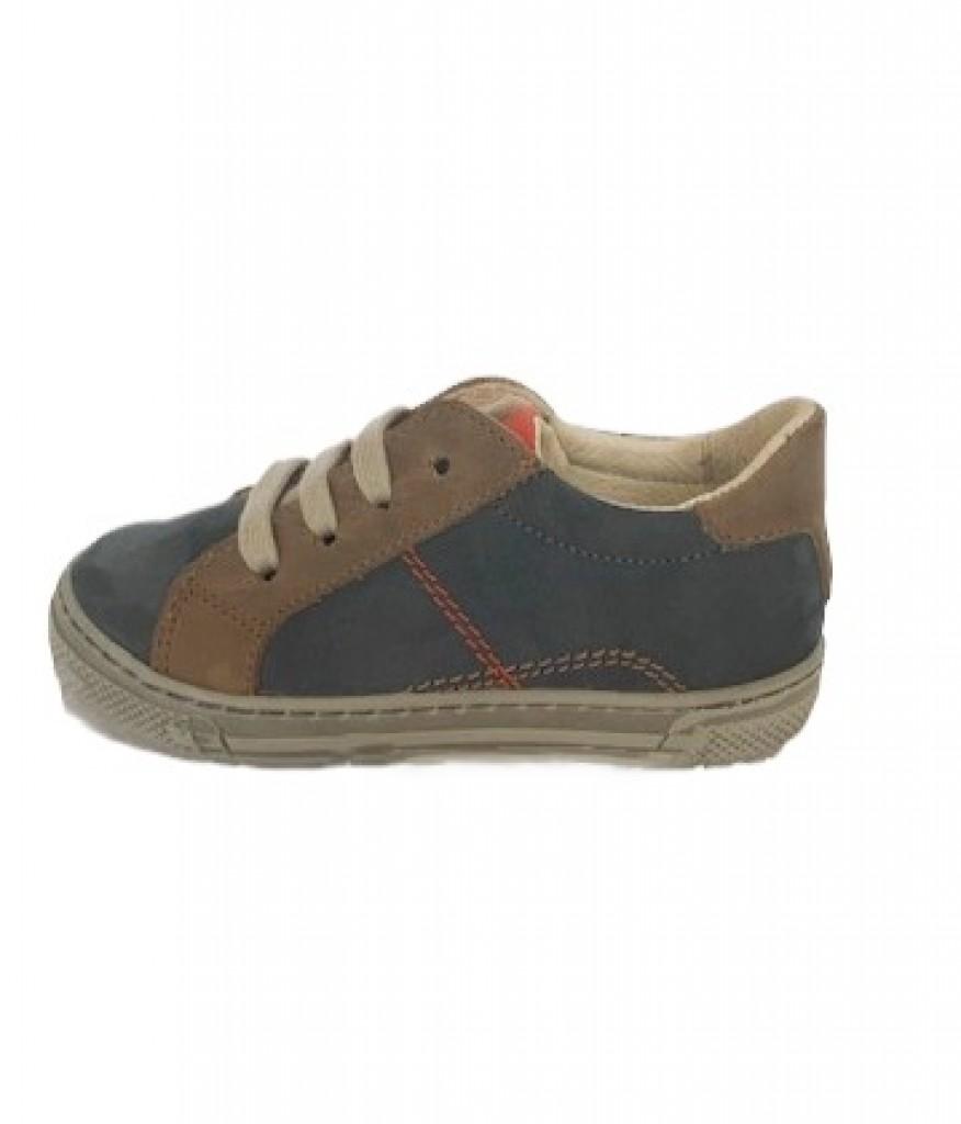 Supykids MODI  modré šnurovacie chlapčenské detské topánky 24-30