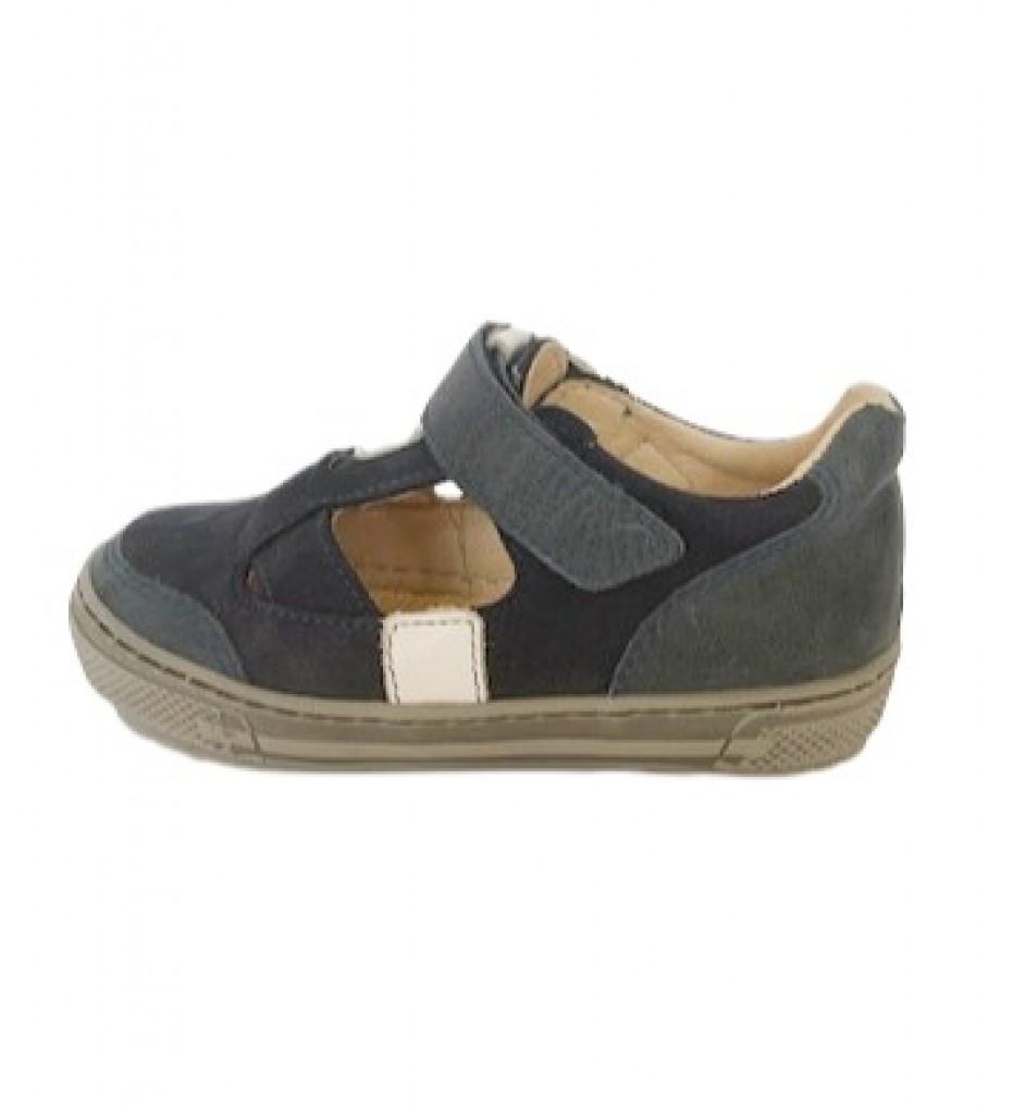 Supykids BALI detské  chlapčenské  sandáleobuv na suchý zips modro 20-30