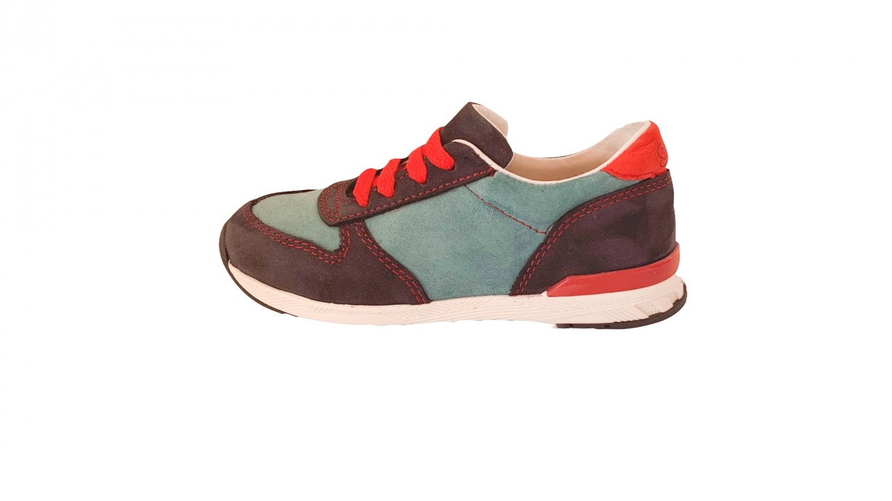 Supykids FLASH  modré šnurovacie chlapčenské detské topánky 22-30
