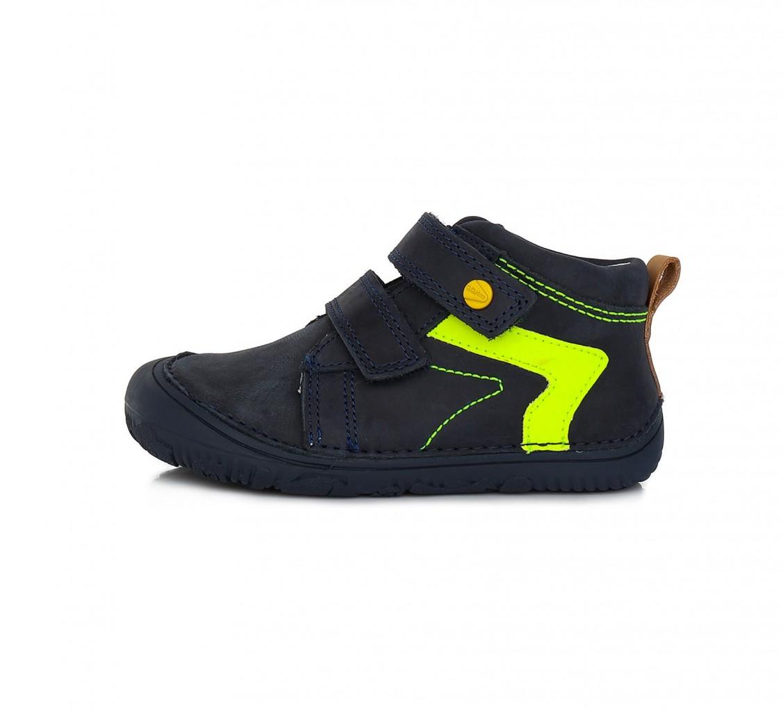 D.D.STEP kék fiú barefoot tépőzáras gyerekcipő 26-31