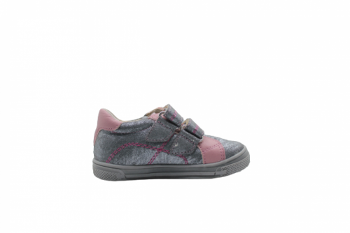 Supykids MODIX ezüst-rózsaszín lány tépőzáras gyerekcipő 22-30