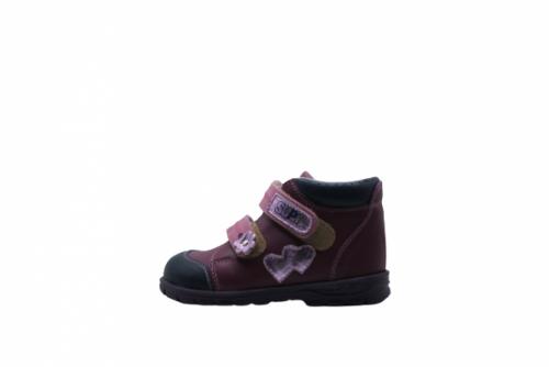 Supykids GABO lila-rózsaszín supinált gyerekcipő 22-32