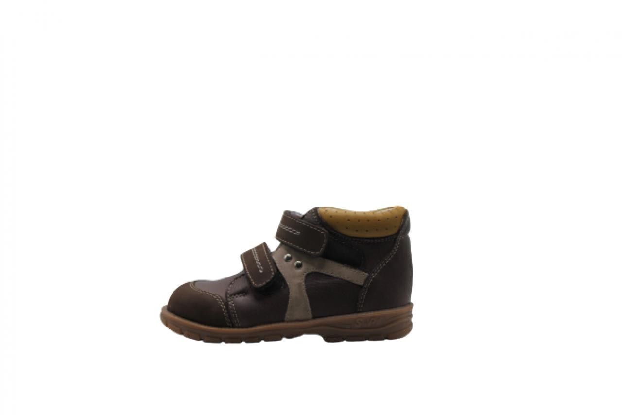 Supykids GABO detská obuv so suchým zipsom hnedá 22-32